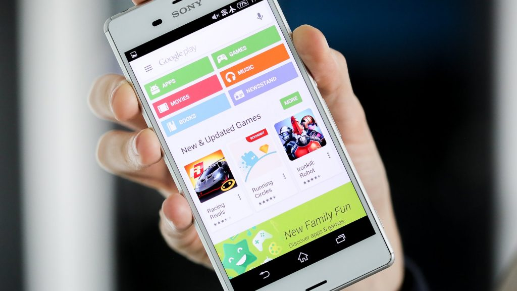 Play Store para Sony